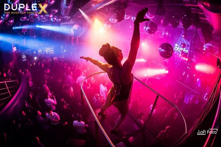 Duplex nightclub Prague events party club dancer