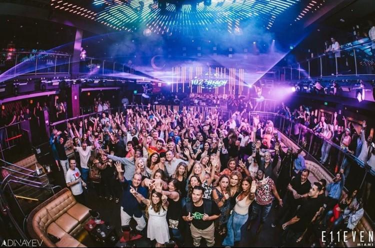 E11VEN nightclub Miami