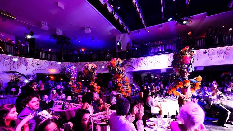 Party at El Tucan VIP nightclub in Miami