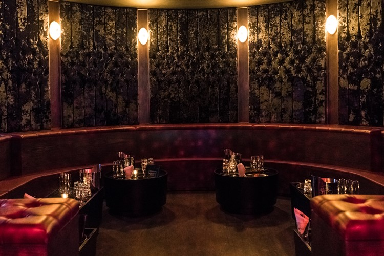 Electric Hotel nightclub Chicago lounge area vip table booking bottles