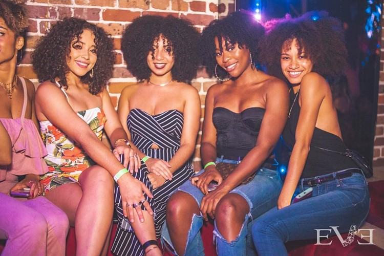 Eve Club nightclub Orlando party sexy girls lounge area