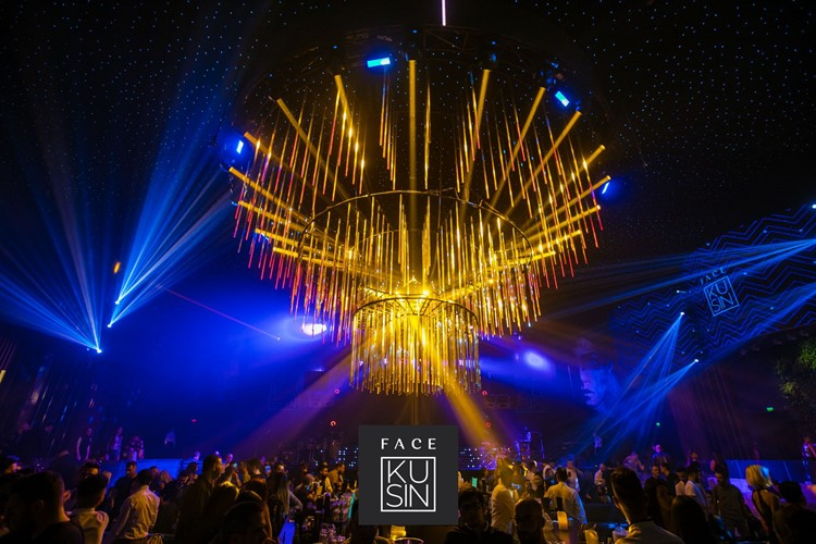 Face Club nightclub Bucharest luxury party event show alcohol bottle service