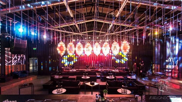 Fratelli Club nightclub Bucharest show room lounge area luxury