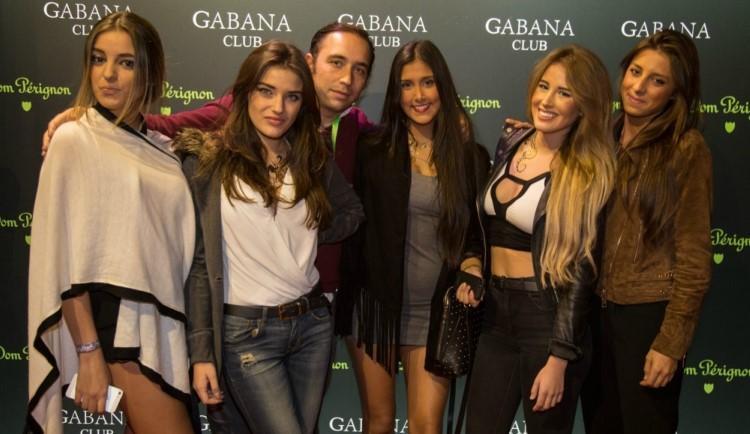 Party at Gabana 1800 VIP nightclub in Madrid