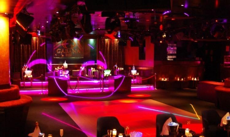 Gabana 1800 nightclub Madrid