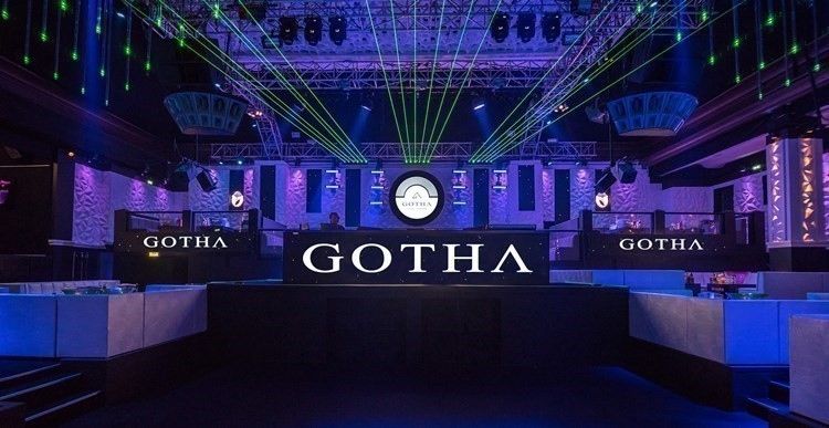 Gotha nightclub Cannes