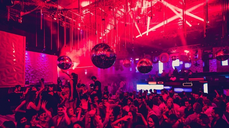 Gotha nightclub Dubai red light party