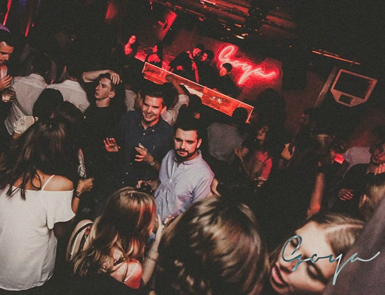 Party at Goya Social Club VIP nightclub in Madrid. Find promoters for guest list in Clubbable