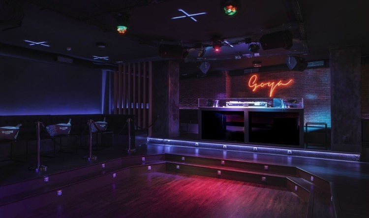 Goya Social Club nightclub Madrid