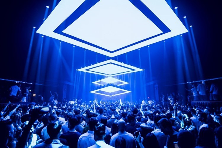 Hï Ibiza nightclub Ibiza