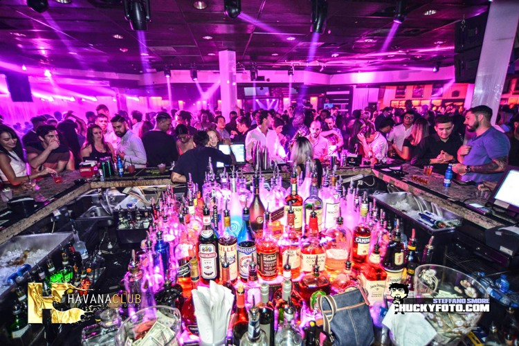 Havana Club nightclub Atlanta big party event crowd partying drinks dance