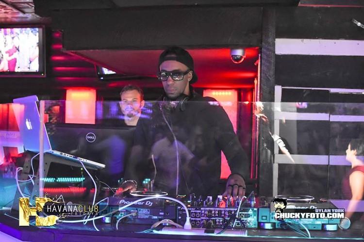 Havana Club nightclub Atlanta dj mixing music