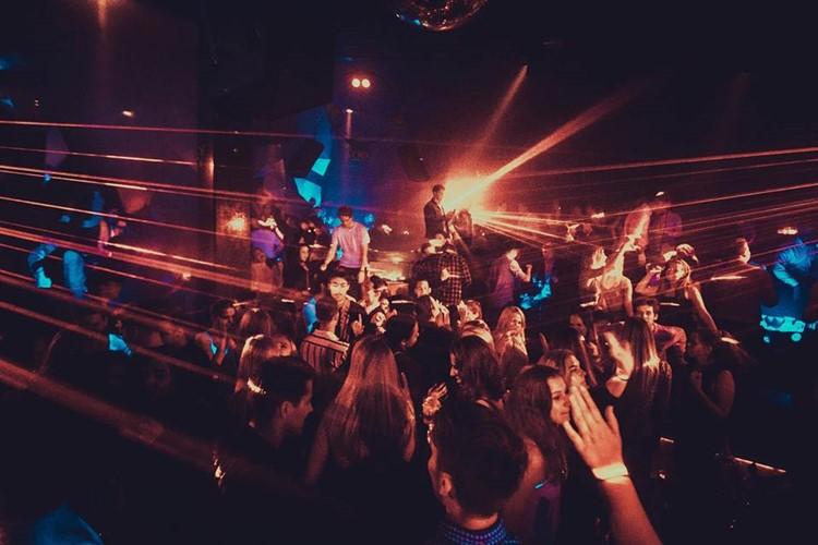 Hive Club nightclub Copenhagen party show people having fun