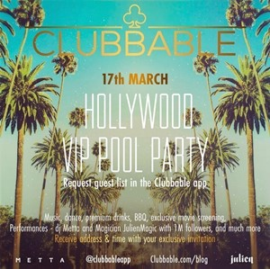 Hollywood VIP Pool Party by Clubbable