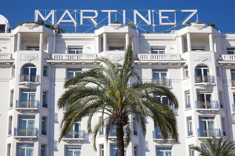 Hotel Martinez nightclub Cannes