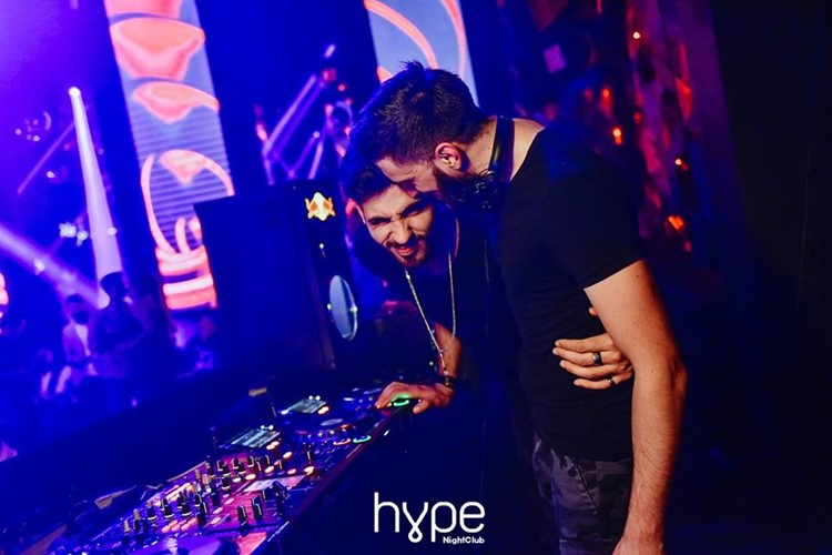 Hype nightclub Belgrade djs mixing music fun dance nights party