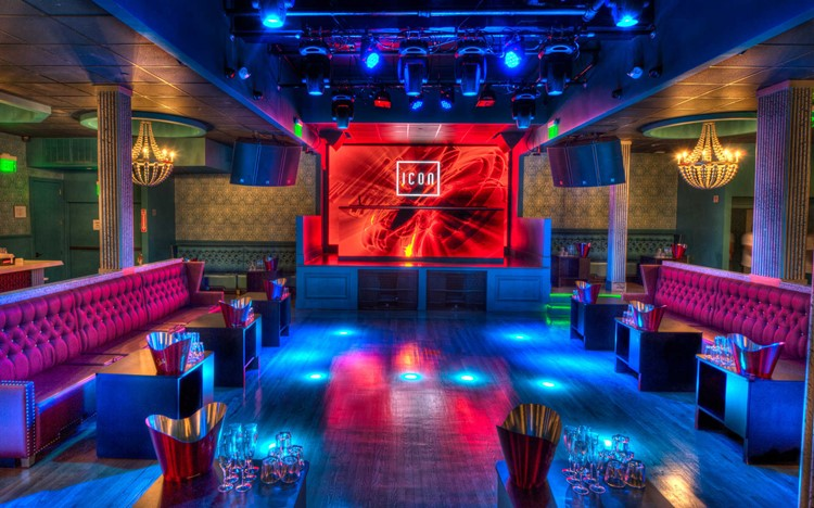 Icon nightclub Moscow view of the interior