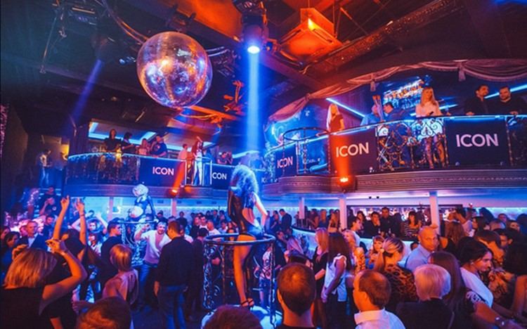 Icon nightclub Moscow full night party