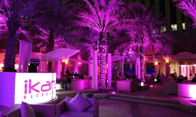 Party at Ikandy VIP nightclub in Dubai