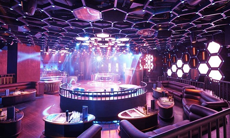 Party at Inner City Zoo VIP nightclub in Dubai
