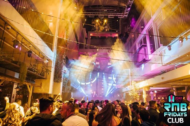 Ivy Club nightclub Sydney big party event lights show crowd dancing