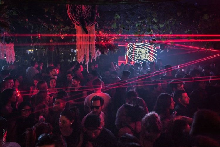 Jet nightclub Buenos Aires big event party
