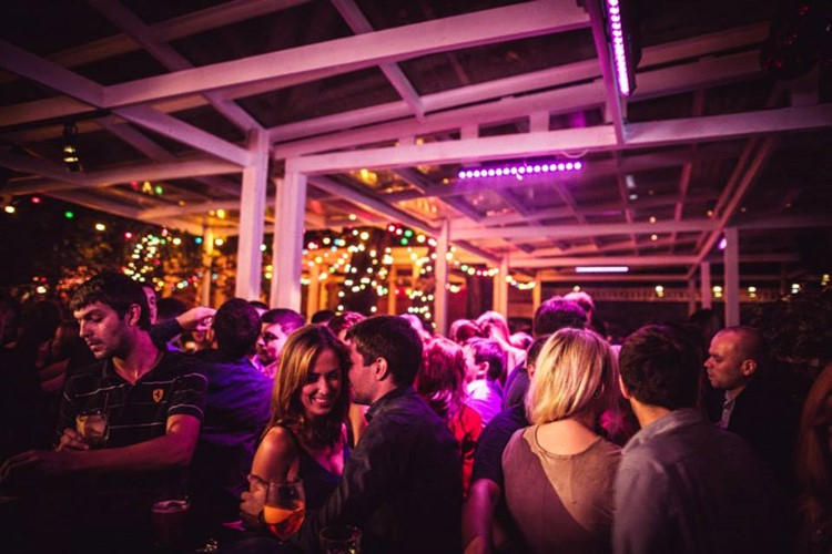 Jagger Bar nightclub Moscow people having fun