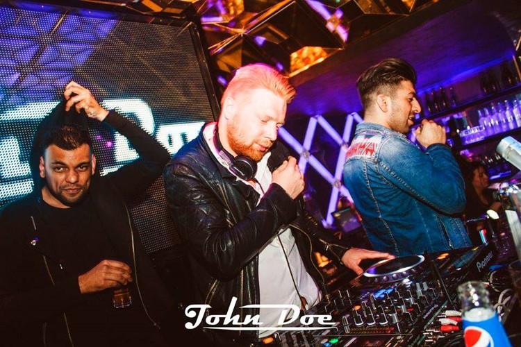 John Doe nightclub Amsterdam dj mixing music singer rapper