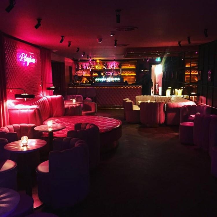 Krystle nightclub Dublin interior luxury design table bar areas lounge