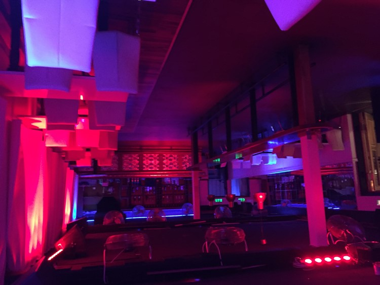Party at L8 VIP nightclub in Stockholm