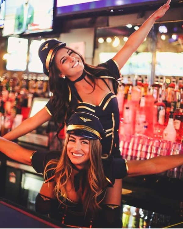 Lincoln Avenue Social sports club Chicago sexy bartenders having fun alcohol drinks party fun