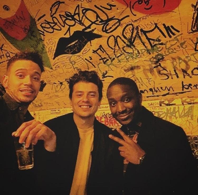 Le Panic Room nightclub Paris boys drinking and having fun