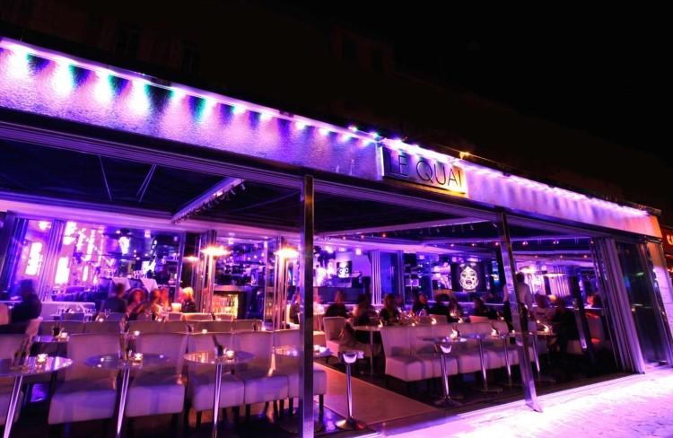 Le Quai nightclub St Tropez
