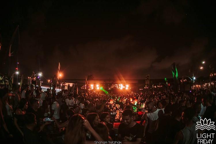 Light House nightclub Tel Aviv crowd having fun party night