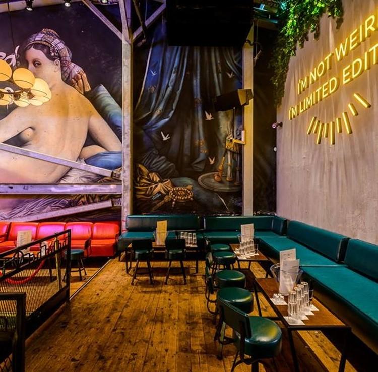 Lighthouse nightclub Tel Aviv lounge area