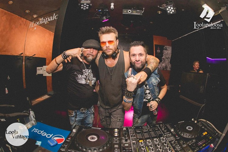 Loolapaloosa nightclub Milan party djs mixing music