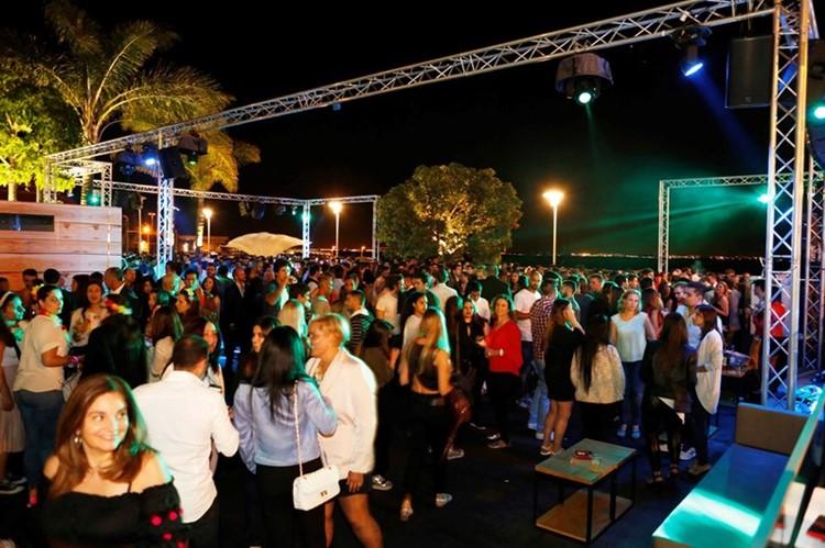 Lust in Rio nightclub Lisbon crowd having fun dancing at a party