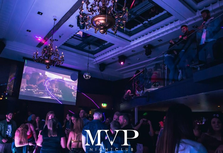 MVP Club nightclub Sydney big party event people dancing