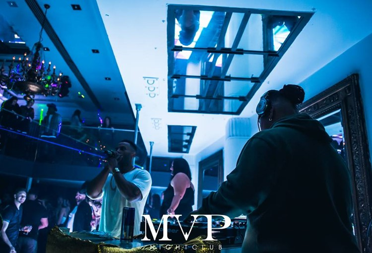 MVP Club nightclub Sydney music dance floor drinks alcohol bottles