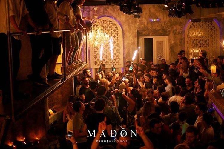 Madøn nightclub Mykonos