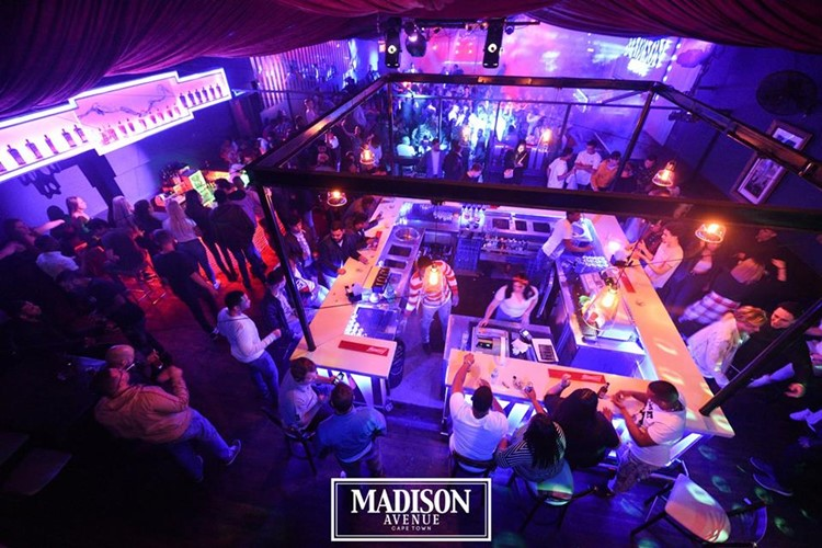 Madison Avenue nightclub Cape Town