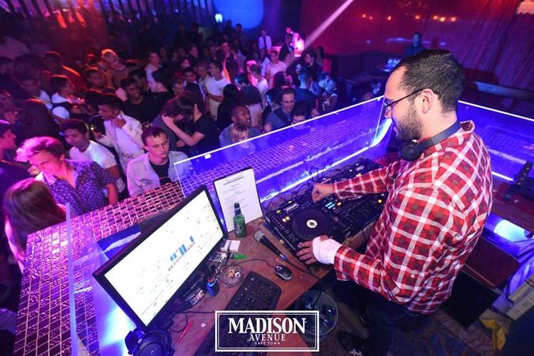 Madison Avenue Club nightclub Cape Town dj mixing music
