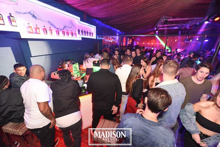 Madison Avenue Club nightclub Cape Town party people dancing