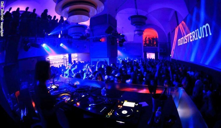 Ministerium nightclub Lisbon