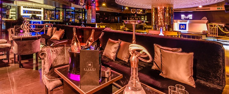 Party at Mirage VIP nightclub in Marbella. Find promoters for guest list in Clubbable