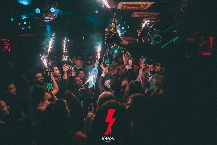 Party at Montezuma VIP nightclub in London