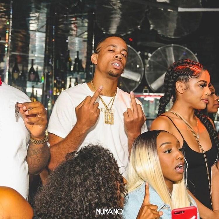 Murano nightclub Los Angeles famous rapper