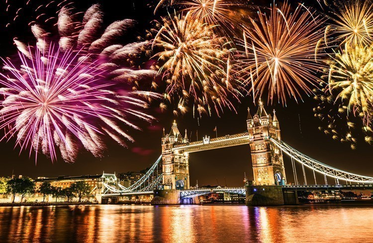 New Years Eve in London 2018