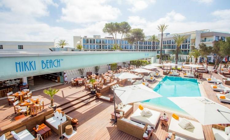 Nikki Beach Ibiza nightclub Ibiza