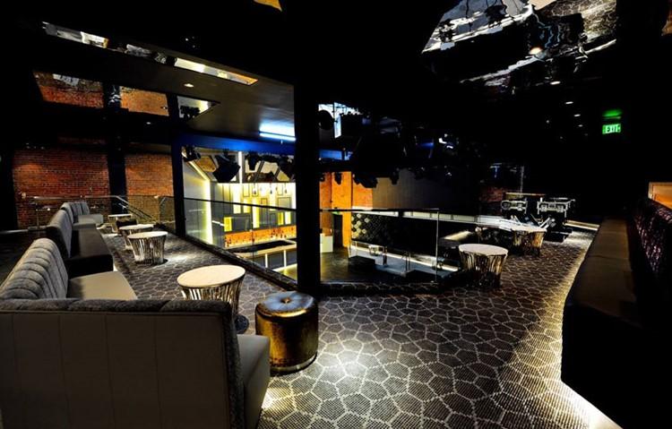 Origin nightclub San Francisco view of the interior